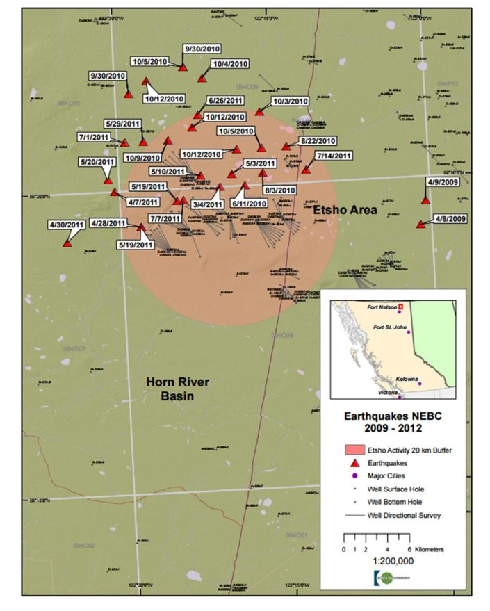 Induced Seismicity Canada