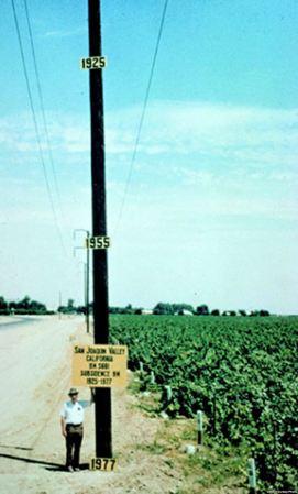 San Joaquin Valley Sunsidence
